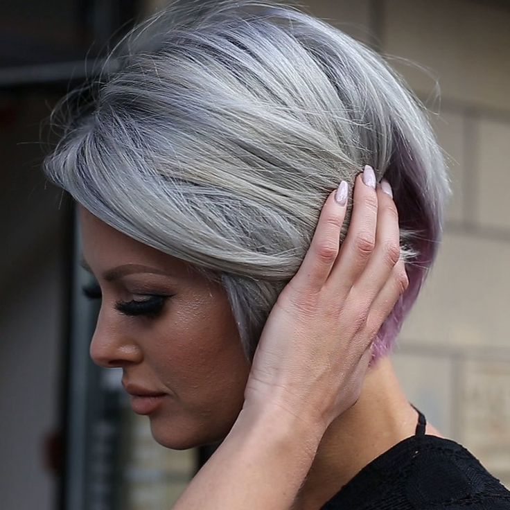 Best 25+ Dying your hair grey ideas only on Pinterest