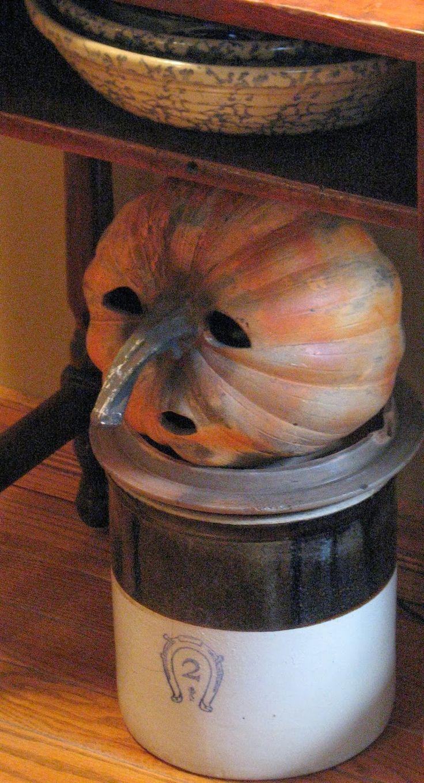 Very cool, simple pumpkin carving