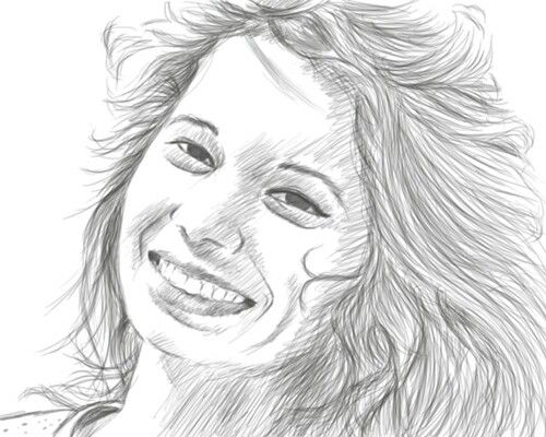 a decent sketch of one of my dear friends :)