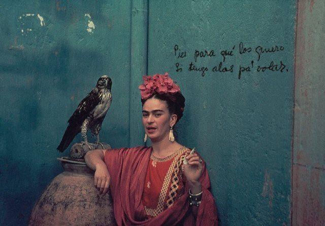 Pies para que los quiero si tengo alas para volar. Frida Kahlo