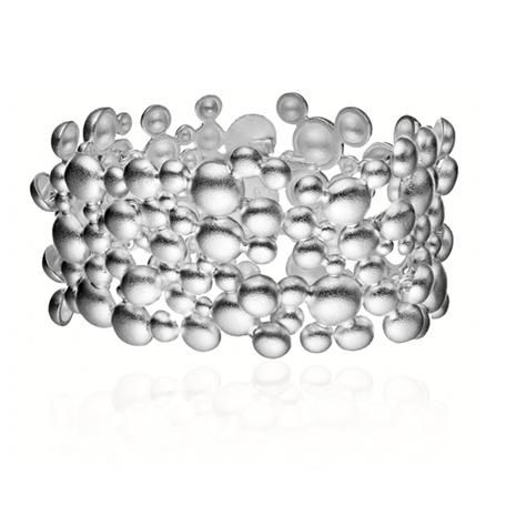 Lapponia - Silver Winter Pearl bracelet
