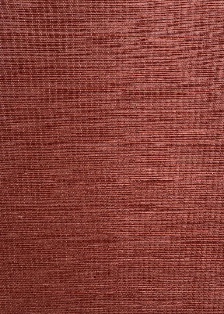 RIXEN SISAL RUBY Grasscloth wallpaper, Sisal, Grasscloth