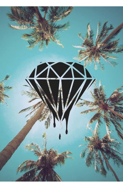 Diamond Supply Art Print