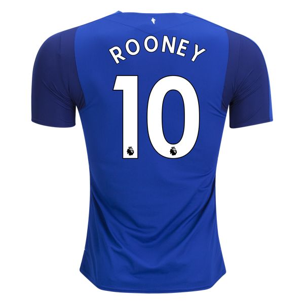 Everton Wayne Rooney Home Soccer Jersey 17/18