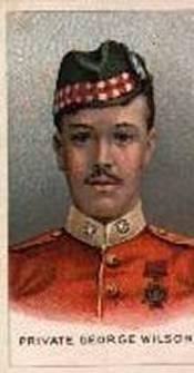 George Wilson VC, Born 29 April 1886 Edinburgh, Scotland, Died 22 April 1926 (aged 39) Edinburgh, Private Highland Light Infantry, WWI
