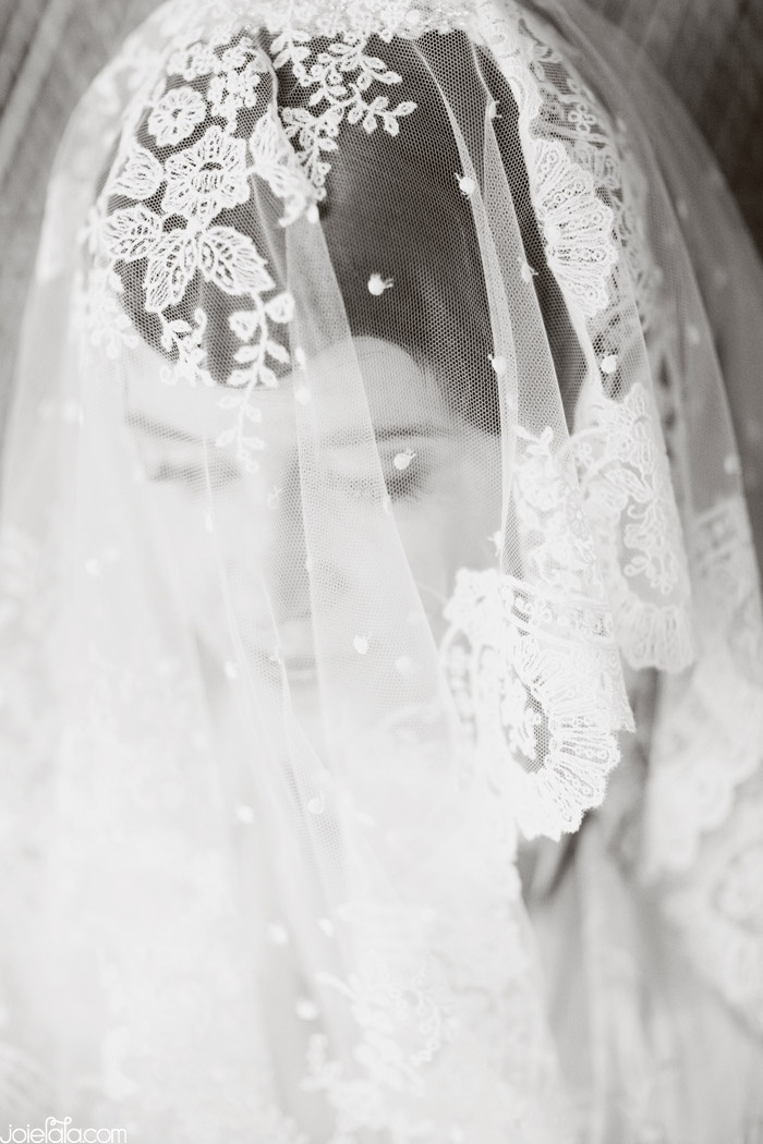 Bridal Portrait Black And White Portraits Lace Veil BridalVeil OuterInner