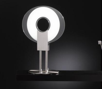 #Q #TableLamp by selene Illuminazione #letter #light