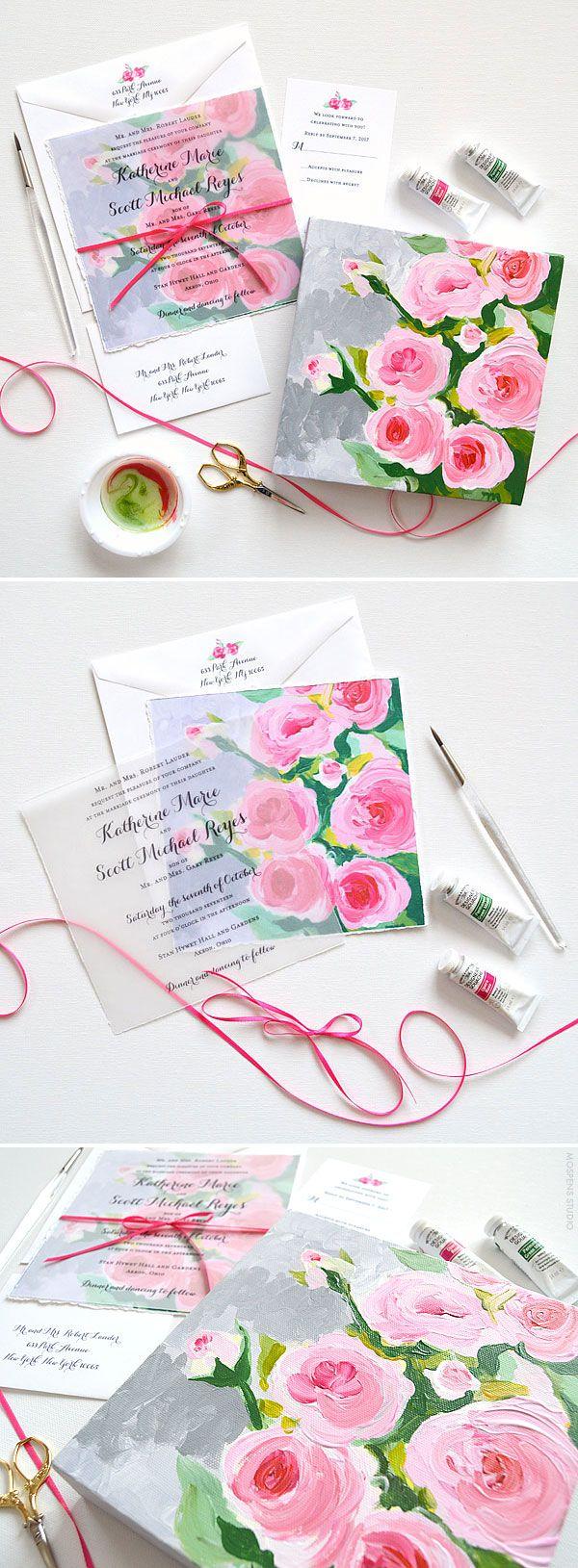 452 best Wedding Invitations images on Pinterest | Bridal ...