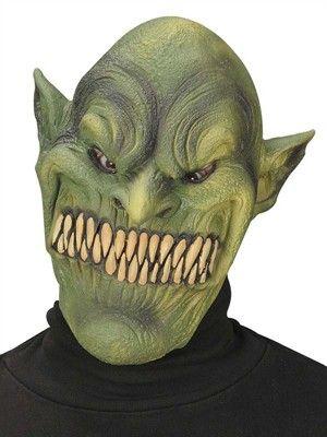 En billig ork maske i latex - kr. 85,00