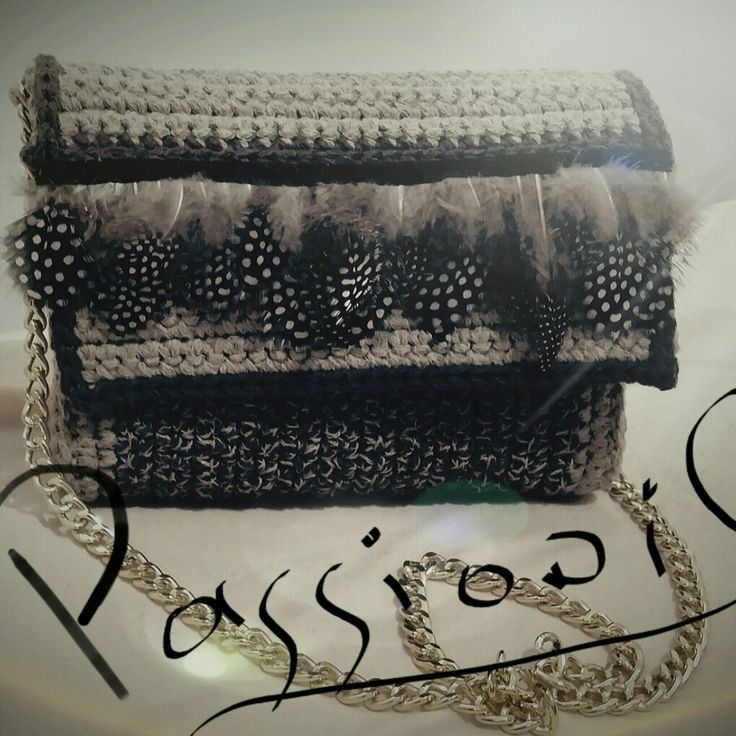''My PaSSion'' fashionable, stylish and unique this handmade shoulder bag for every woman all time long ❤