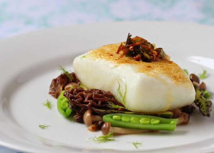 Beyond Salmon: Sous-vide Halibut with Scallions, Coriander, and Lemon