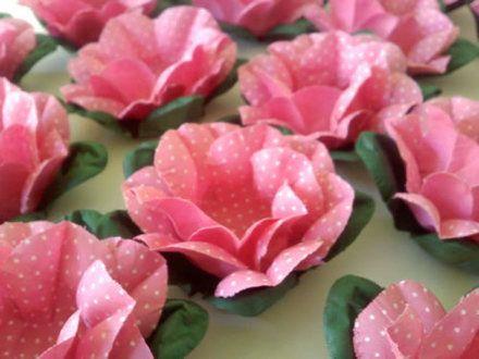 Cheguei, tem Café?: Um toque à mais: Forminhas de doces