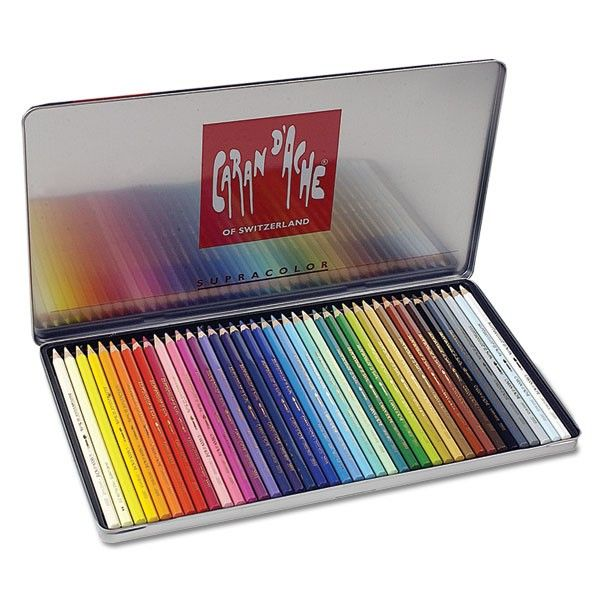 Caran d'Ache Supracolor II Watercolor Pencil Sets