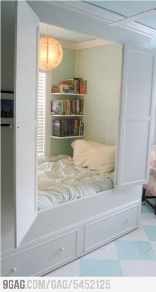I want one of these so I can just hide away by myself sometimes. Perfection.