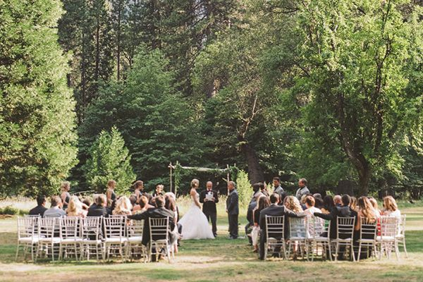 Rustic Yosemite Wedding at The Ahwahnee Hotel Snippet & Ink