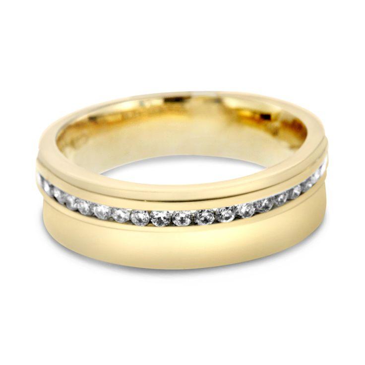 20 best Mens Gold Wedding Bands images on Pinterest Golden wedding