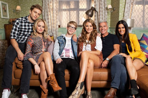 The Nightingale family in Hollyoaks