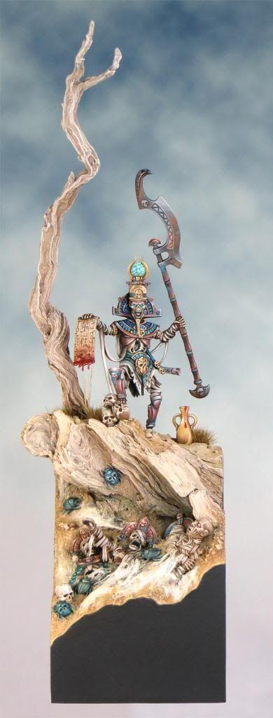 Tomb Kings #warhammer #whfb #wh #aos #ageofsigmar #sigmar #gw #gamesworkshop #wellofeternity #miniatures #wargaming #wargames #fantasy #hobby