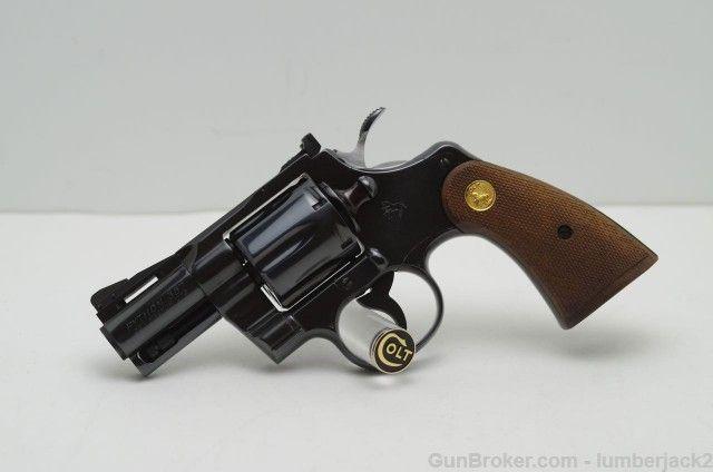1975 Colt Python 2 1/2'' Blue