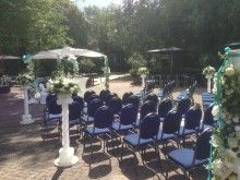 Buiten trouwen in het Koetshuis