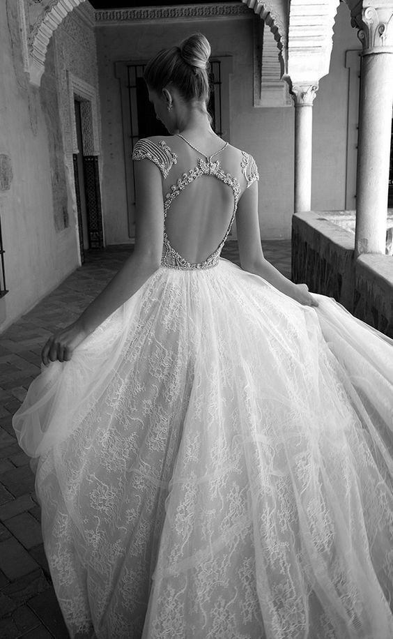 Featured Dress: Alon Livne; Wedding dress idea.