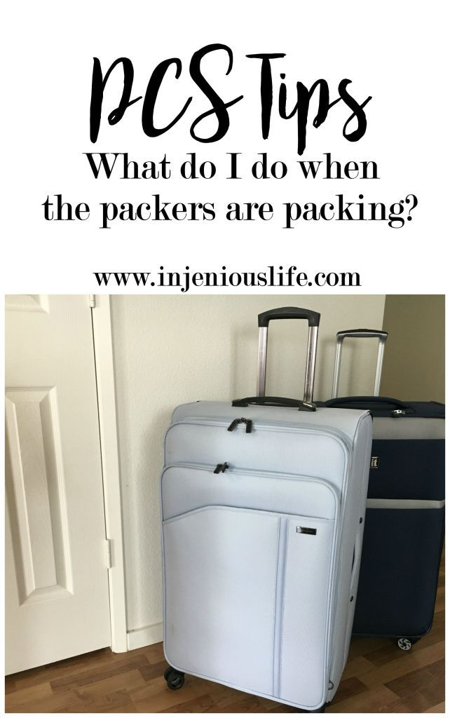 PCS Season   Tips for When the Movers Are Packing