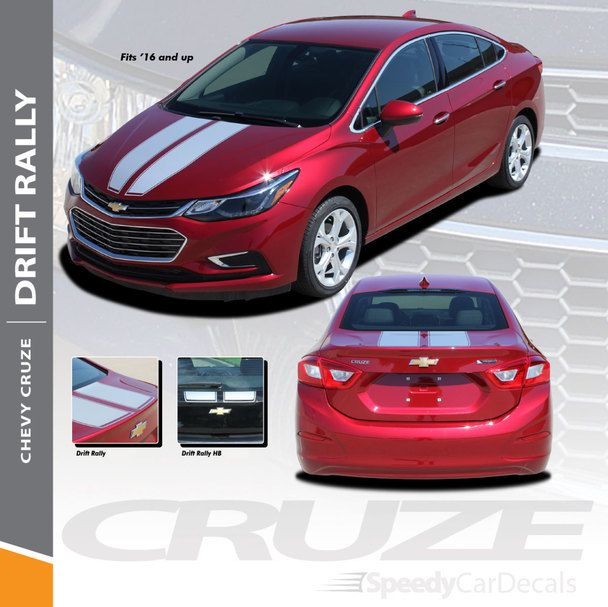 Pin On 2011 2019 Chevy Cruze Stripes Decals Vinyl Graphics