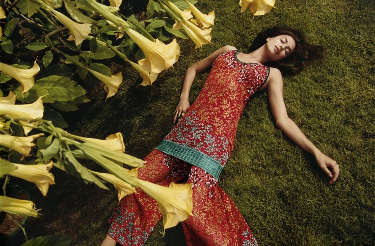 Irina Shayk by Harley Weir for Missoni Spring/Summer 2017 Campaign
