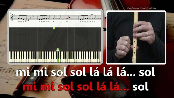 Hello Adele  karaoke para flauta Educação Musical José Galvão