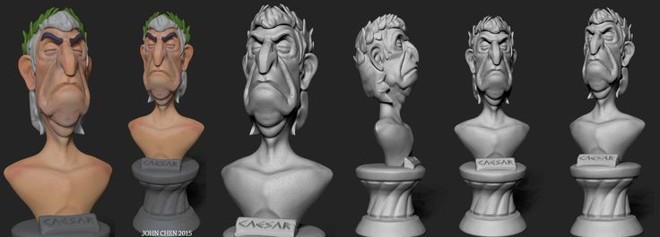 ArtStation - Caesar, John Chen