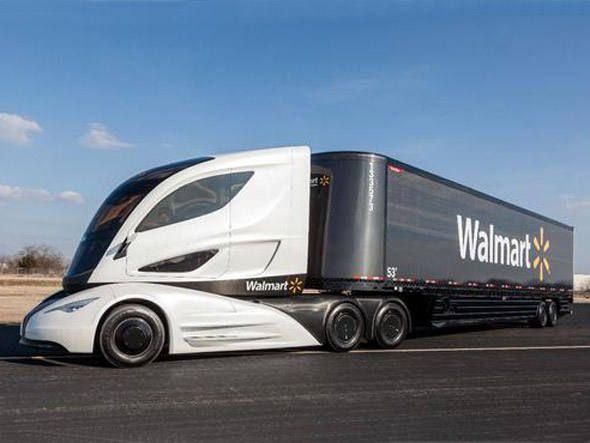 Wave, o caminhão do futuro do Walmart