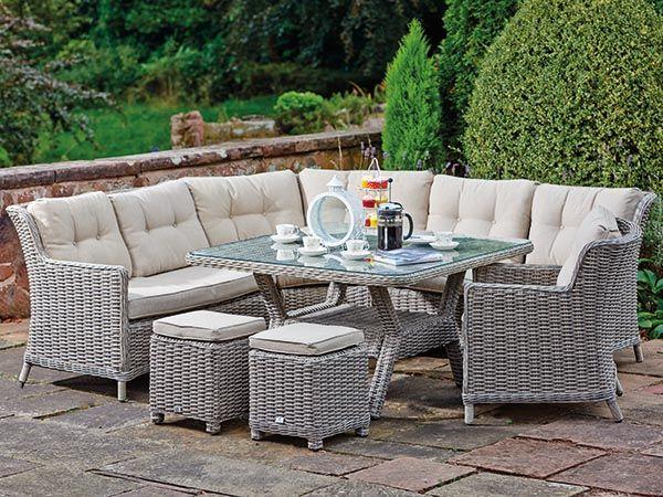 supremo eton curved patio set 50113382