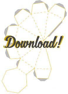 Free downloadable template and print – DIY Diamond