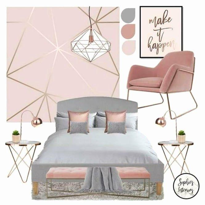 Bedroom Ideas Wallpaper Fresh Zara Shimmer Metallic Wallpaper Soft Pink Rose Gold Ilw Kamar Dekor Kamar Tidur Yang Indah Dekor Kamar Tidur Soft pink bedroom ideas