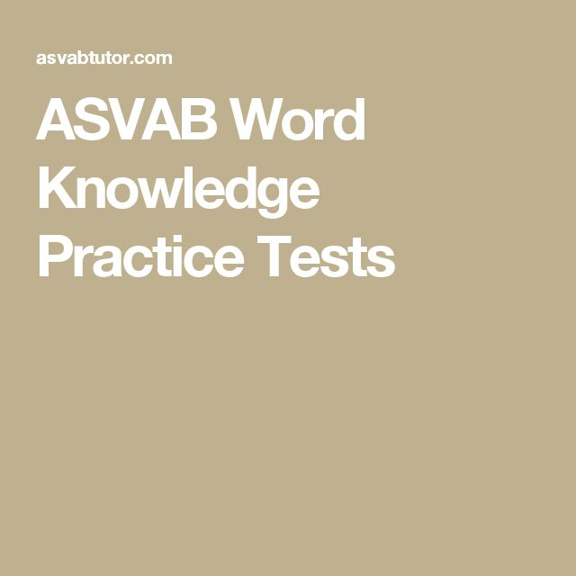 44 best asvab images on pinterest history study tips and anatomy boost your score with our asvab word knowledge practice tests get free practice tests study guides and test taking tips for all areas of the asvab fandeluxe Gallery