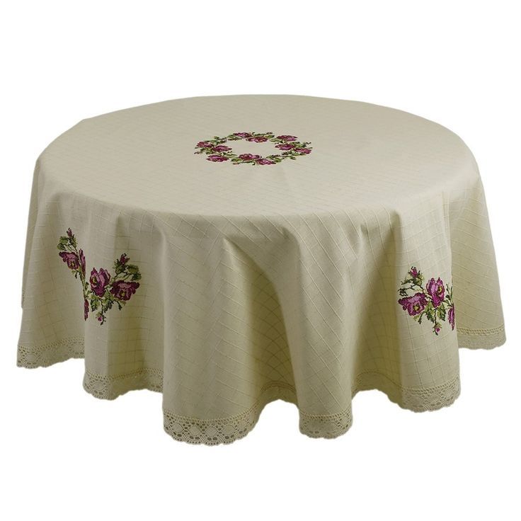 VINTAGE INSPIRED EMBROIDERY TURKISH TABLE CLOTH