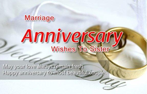 Anniversary Jiju And Didi Marriage Anniversary Wishes Quotes Happy Marriage Anniversary Anniversary Wishes For Sister
