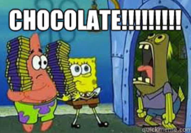 Spongebob Chocolate meme
