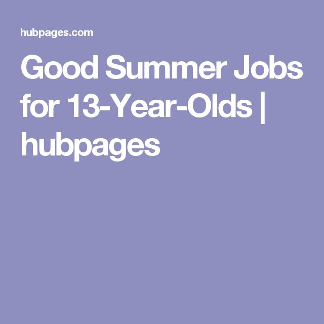 Jobs for 14 Year Olds | Hire Teen