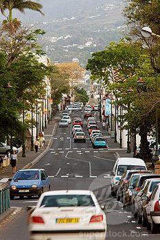 Avenue de la Victoire, Saint-Denis, Reunion island
