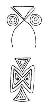 Buho. Owl Taino Symbol