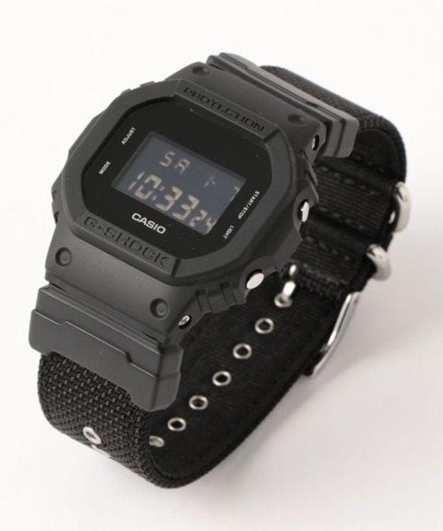 CASIO Mens G-SHOCK Military Black Watch DW-5600BBN-1JF