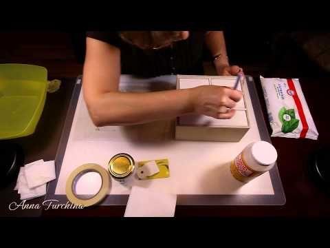 Видео мастер-класс по декупажу: «Лицо комодика» - Ярмарка Мастеров - ручная работа, handmade