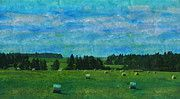 "New artwork for sale! - "" Landscape Bales Of Hay Hay Bales  by PixBreak Art "" - http://ift.tt/2lBVKGy"