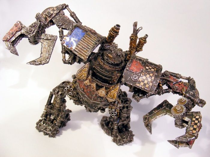 Ork Mega Dread Looted Dreadknight – Desenhos Para Colorir