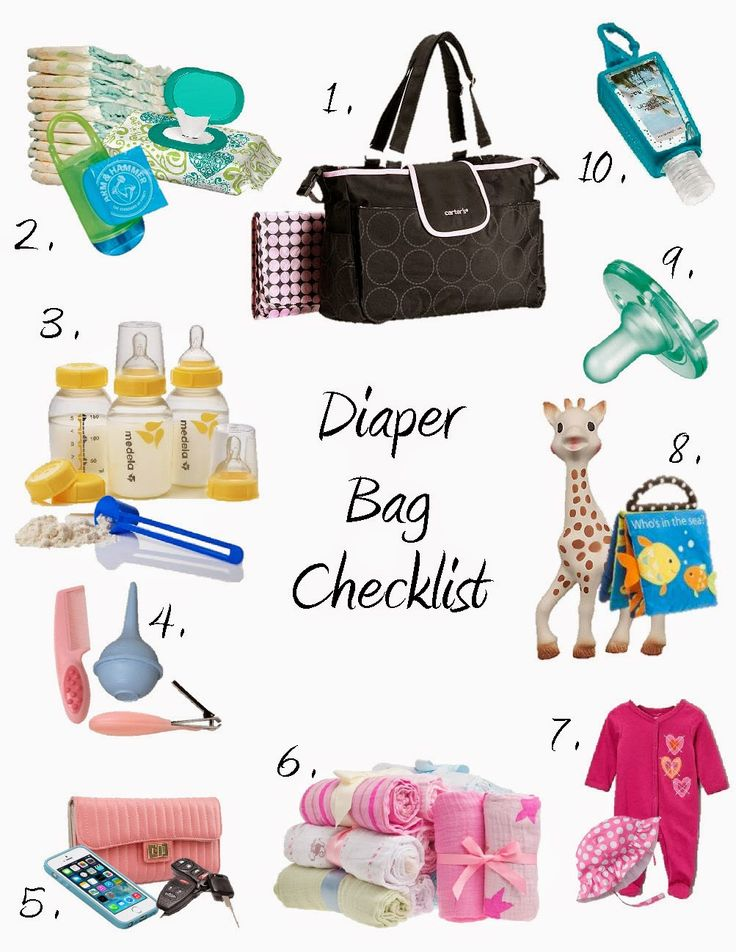 Mommyhood Now Baby Supplies Checklist for First-Time Parents - baby registry checklists