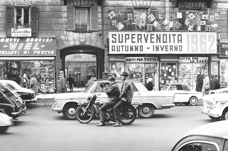 fotografia di Ernesto Fantozzi Corso Bueno Aires - Milano 1962
