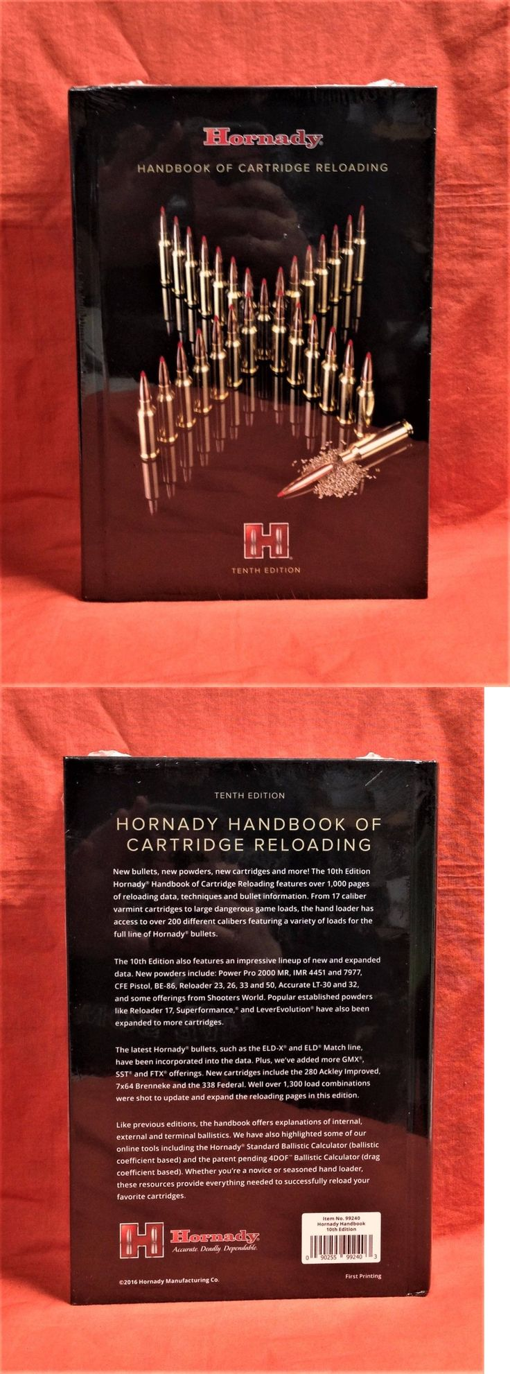 Manuals and Instruction Material 111293: Hornady Handbook Of Cartridge Reloading 10Th Edition #99240 BUY IT NOW ONLY: $41.39