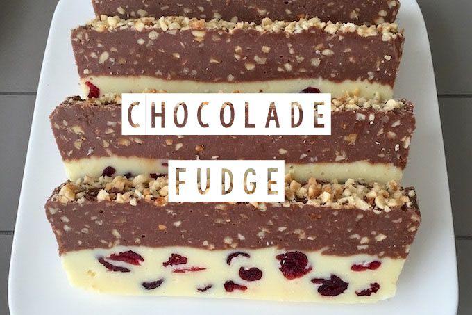 Op zoek naar een lekker zoet recept? Bekijk dan dit recept voor chocoladefudge met cranberry's. Super makkelijk om te maken maar o zo lekker!
