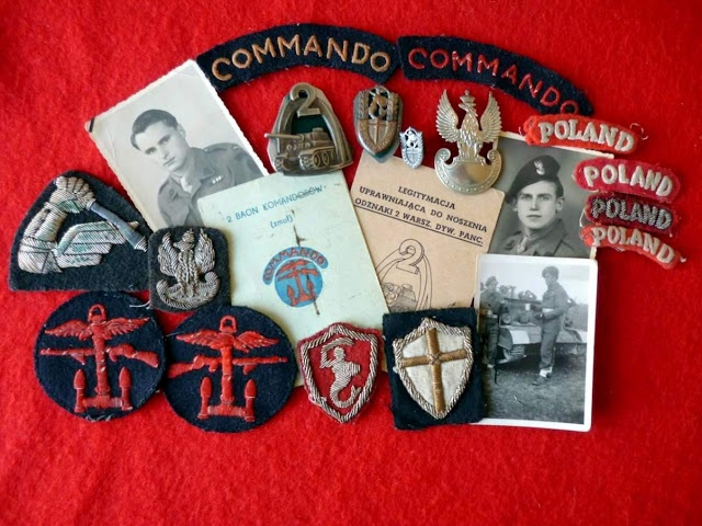 Commando badges